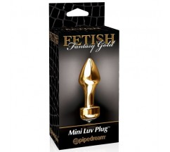 PLUG FETISH FANTASY GOLD MINI LUV PLUG