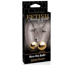 BOLAS VAGINAIS FETISH FANTASY GOLD BEN WA BALLS