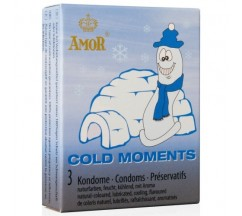 PRESERVATIVOS COLD MOMENTS 3 UNIDADES