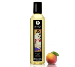 SHUNGA MASSAGE OIL STIMULATION PEACH 250ML