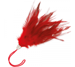 DARKNESS RED FEATHER 17cm