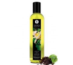 SHUNGA MASSAGE OIL ORGANICA GREEN TEA 250ML