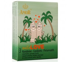 WILD LOVE CONDOMS 3 UNITS