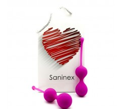 SANINEX BALLS DOUBLE CLEVER LILAC