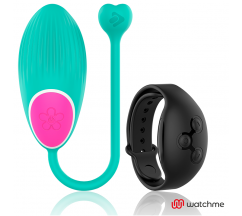 WEARWATCH EGG WIRELESS TECHNOLOGY WATCHME AQUAMARINE / JET BLACK