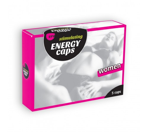 ERO STIMULATING ENERGY CAPS FOR WOMEN 5 CAPSULES