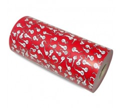 WRAPPING PAPER DECORATED WITH SPERMATOZOA 62CM