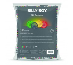 BILLYBOY MIX BAG COM MIX PRESERVATIVOS 100 UNIDADES