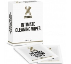XPOWER INTIMATE CLEANING WIPES 6 UNITS