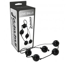 BOLAS ANALES LOVE BALLS JAMMY JELLY ANAL NEGRAS