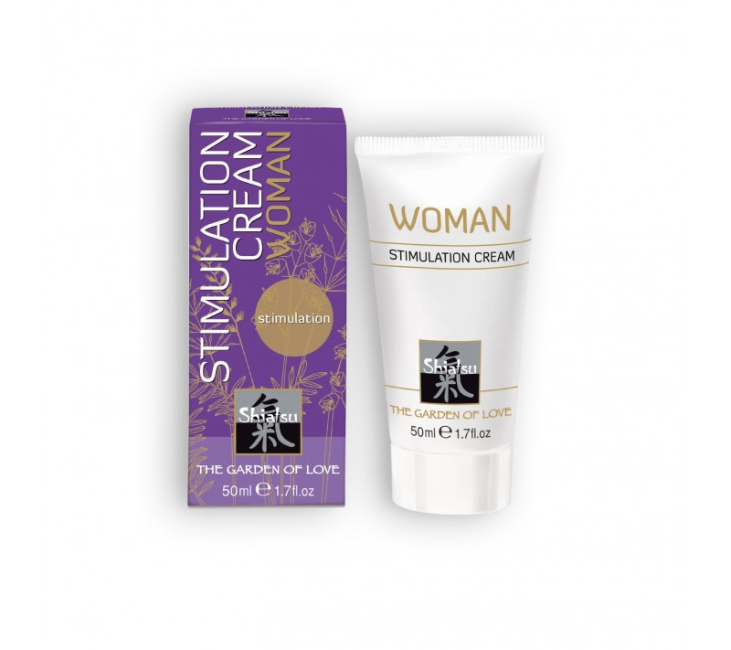 CREMA ESTIMULANTE FEMENINO SHIATSU™ WOMAN STIMULATION CREAM 50ML
