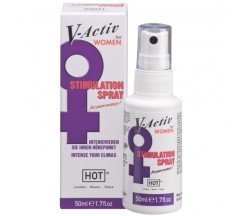 SPRAY ESTIMULANTE FEMININO V-ACTIV 50ML