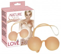 BOLAS VAGINAIS LOVE BALLS NATURE SKIN BRANCAS