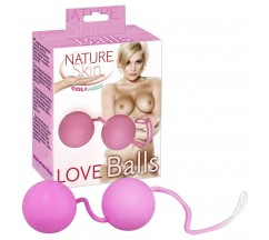 BOLAS VAGINAIS LOVE BALLS NATURE SKIN ROSA